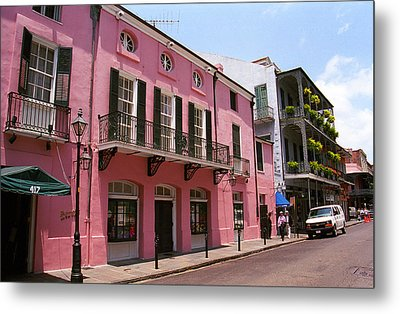 New Orleans Metal Print by Frank Romeo