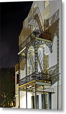 New Orleans Hot Summer Night Metal Print by Christine Till