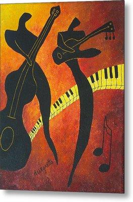 New Orleans Jazz Metal Print by Pamela Allegretto