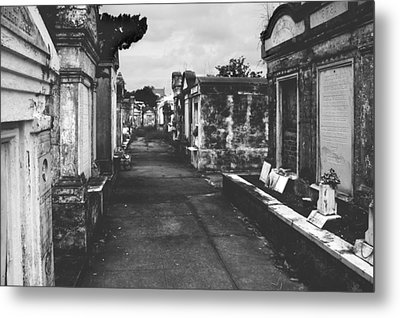 New Orleans Lafayette Cemetery Metal Print by Christine Till