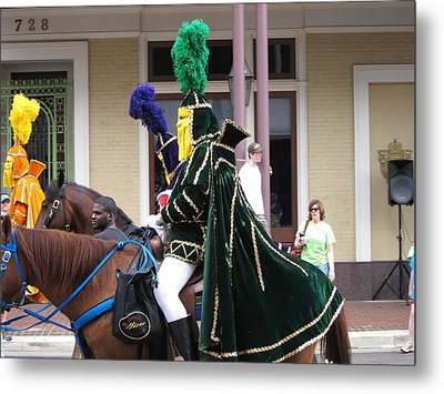 New Orleans - Mardi Gras Parades - 121258 Metal Print by DC Photographer