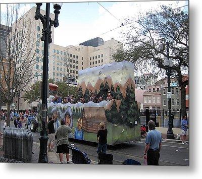 New Orleans - Mardi Gras Parades - 121289 Metal Print