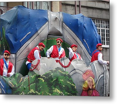 New Orleans - Mardi Gras Parades - 121294 Metal Print by DC Photographer