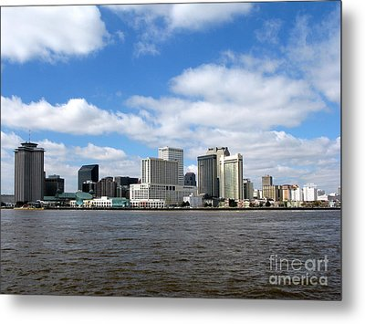 New Orleans Metal Print by Olivier Le Queinec