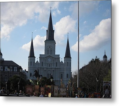 New Orleans - Seen On The Streets - 121216 Metal Print