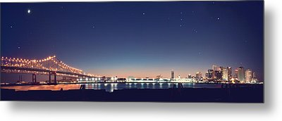 New Orleans Skyscape Metal Print