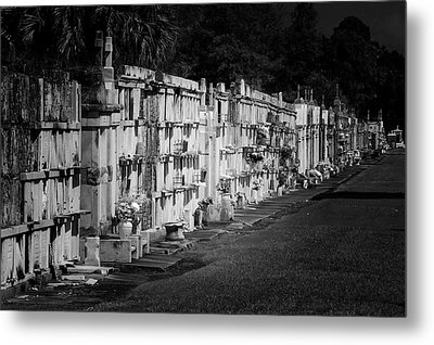 New Orleans St Louis Cemetery No 3 Metal Print