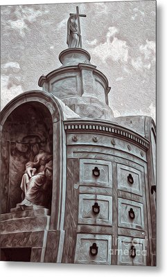 New Orleans - St.louis Cemetery Metal Print by Gregory Dyer