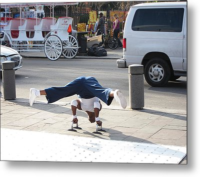 New Orleans - Street Performers - 121210 Metal Print by DC Photographer