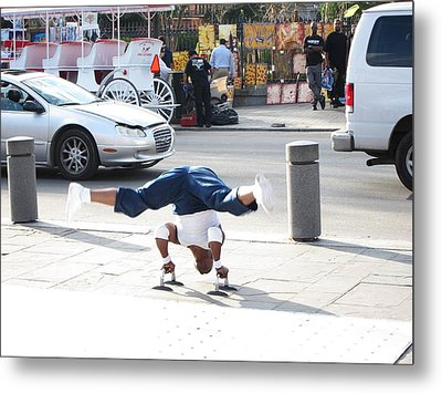 New Orleans - Street Performers - 121212 Metal Print by DC Photographer