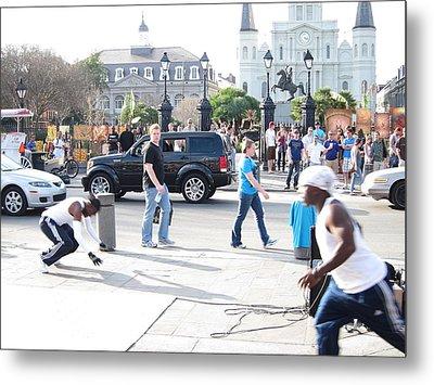 New Orleans - Street Performers - 121213 Metal Print