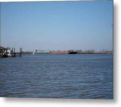 New Orleans - Swamp Boat Ride - 121225 Metal Print by DC Photographer