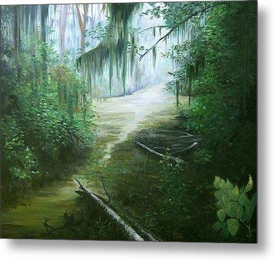 New Orleans Swamp Metal Print by Susan Moore