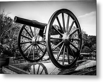 New Orleans Washington Artillery Park Cannon Metal Print