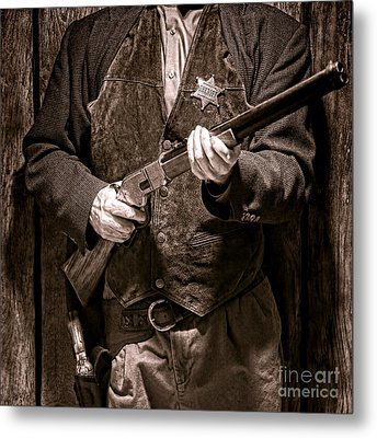 New Sheriff In Town  Metal Print