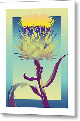New Thistle Metal Print