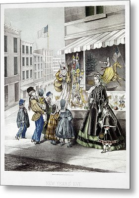 New Year's Eve, 1865 Metal Print
