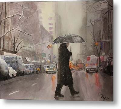 New York Chill Metal Print