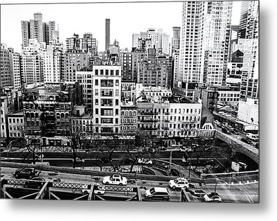 New York City - Above It All Metal Print by Vivienne Gucwa