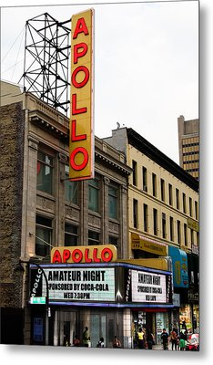 New York City - Apollo Theater  Metal Print by Russell Mancuso