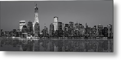 New York City Metal Print by Eduard Moldoveanu
