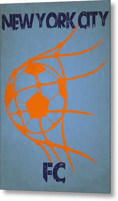 New York City Fc Goal Metal Print by Joe Hamilton
