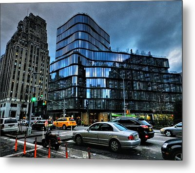New York City - Greenwich Village 010 Metal Print by Lance Vaughn