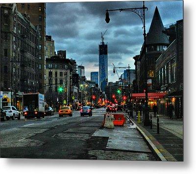 New York City - Greenwich Village 014 Metal Print by Lance Vaughn