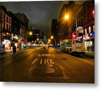 New York City - Greenwich Village 017 Metal Print by Lance Vaughn