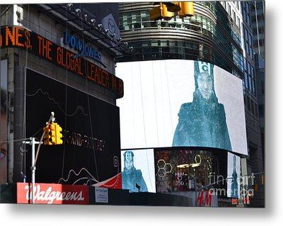 new York City III Metal Print
