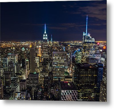 New York City Metal Print by Larry Marshall