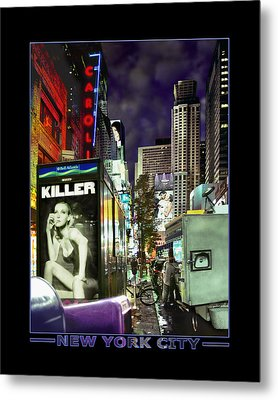 New York City Metal Print by Mike McGlothlen