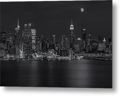 New York City Night Lights Metal Print by Susan Candelario