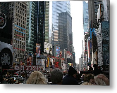 New York City - Sights Of The City - 12121 Metal Print by DC Photographer