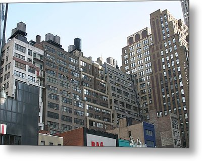New York City - Sights Of The City - 121211 Metal Print by DC Photographer