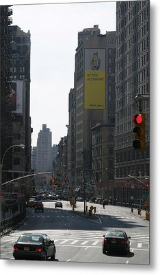 New York City - Sights Of The City - 121220 Metal Print by DC Photographer