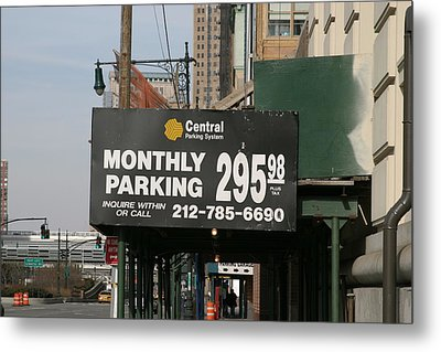 New York City - Sights Of The City - 121239 Metal Print by DC Photographer