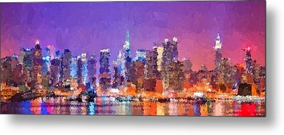 New York City - Skyline 0 Metal Print