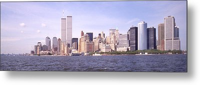 New York City Skyline Panoramic Metal Print