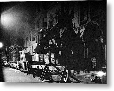 Metal Print featuring the photograph New York City Street by Steven Macanka