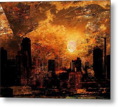 New York City Sunrise Metal Print