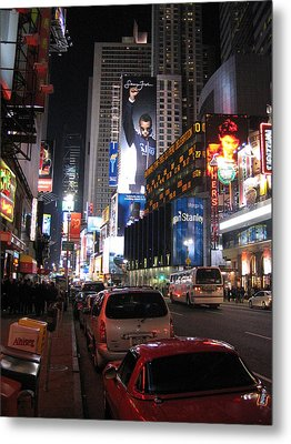 New York City - Times Square - 121224 Metal Print by DC Photographer
