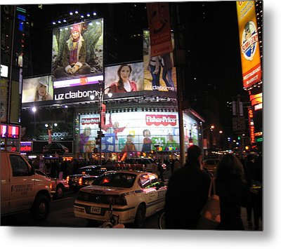 New York City - Times Square - 12123 Metal Print by DC Photographer