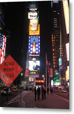 New York City - Times Square - 12129 Metal Print by DC Photographer