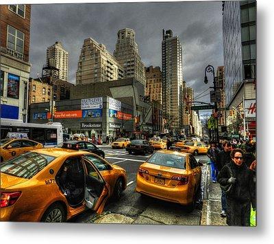 New York City - Upper East Side 001 Metal Print