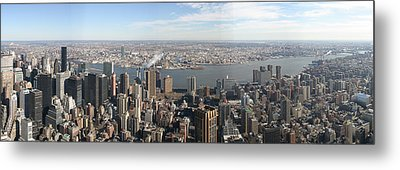 New York City - View From Empire State Building - 12121 Metal Print