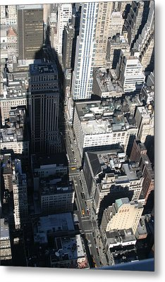 New York City - View From Empire State Building - 121213 Metal Print