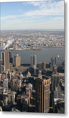 New York City - View From Empire State Building - 121219 Metal Print by DC Photographer