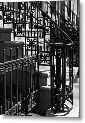 New York City Wrought Iron Metal Print