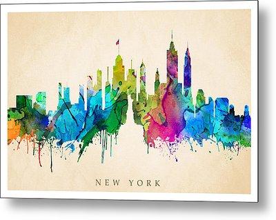 New York Cityscape Metal Print